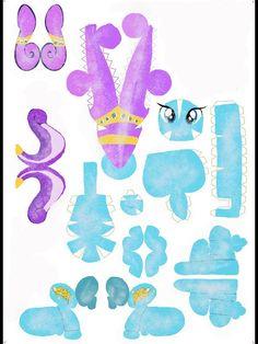 DeviantArt: More Artists Like Crystal Pony Papercraft by MashaTeam3699