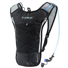 ErgaLogik Gravity 70 UltraLight 2L Hydration Pack  Great for Running Hiking Cycling and Skiing ** Read more at the image link.