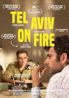 Full Free Watch Tel Aviv On Fire : Movie Salam, An Inexperienced Young Palestinian Man, Becomes A Writer On A Popular Soap Opera After A. Movies 2019, Hd Movies, Movies To Watch, Movies Online, Film Movie, Film Vf, Cinema Film, Tel Aviv, Pikachu