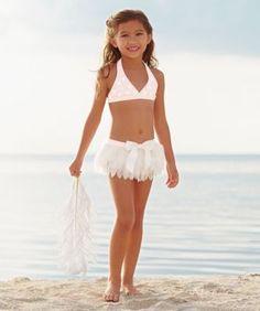 girls swan lake tutu swimsuit  @dannela143