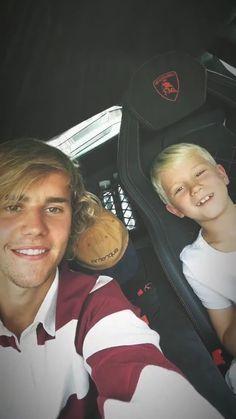 Justin Bieber y Jason