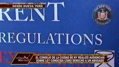 CIUDAD DE NUEVA YORK DISCUTE LEY PARA ASISTENCIA LEGAL A INQUILINOS