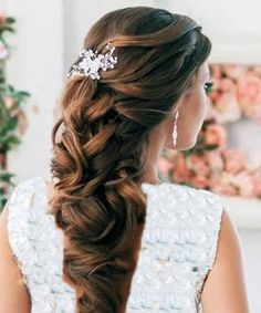 bridal hair accessories for half up half down