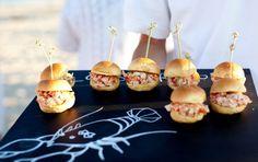 lobstah rolls / Pin curated by Pretty Planner Weddings & Events www.prettyplannerweddings.com /