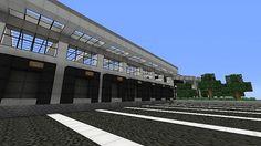 Modern warehouse Minecraft Project