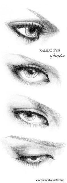 Kamijo's beautiful eyes | via Tumblr  Beautiful