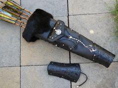 Mystic Quivers Artemis Arrow Quiver Set~ This was a special order made for Ella~ www.mysticquivers.com