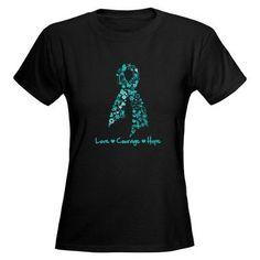 Ovarian Cancer Courage Tee