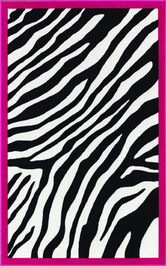 Dalyn Zebra Area Rug from Wal-Mart. Great flooring for booth (or home! Zebra Print Rug, Animal Print Rug, Zebra Kids, Kids Area Rugs, Pink Kids, Pink Zebra, Teal, White Zebra, Rugs Usa