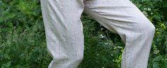 Linen Morocco inspired Pants Tutorial