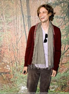 Matthew Gray Gubler - wow.  I don't believe I've ever seen him smile that big!