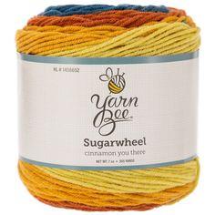 Cinnamon You There Yarn Bee Sugarwheel Yarn Knit Or Crochet, Crochet Hooks, Yarn Bee, Print Coupons, Yarn Needle, Knitting Needles, Hobby Lobby, Fun Projects, Cinnamon