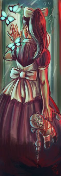 The world that the children made by *pandatails on deviantART Bioshock Little Sister