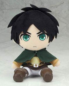 Eren: Attack on Titan Plushie Series $42.00 http://thingsfromjapan.net/eren-attack-titan-plushie-series/