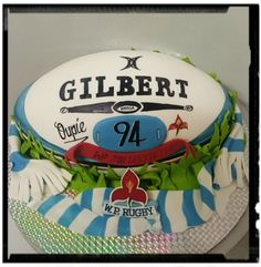WP Stormers cake by Celestial Create