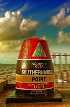 The southernmost point of the continental United States, Key West, Florida, USA. Photo by Cristina Muraca/ShutterStock.