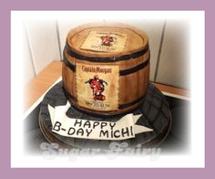 Captain Morgan Cake https://www.facebook.com/fairy.designer.cake/  https://www.birthdays.durban