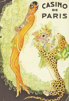 Joséphine Baker pour la revue Paris qui Remue (Casino de Paris, 1930).