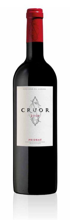 En la añada 2008 hemos añadido detalles de color en el diseño de Cruor, uno de nuestros vinos del Priorat. ¿Qué os parece? Red Wine, Alcoholic Drinks, Bottle, Home, Color Accents, Wine, Alcoholic Beverages, Flask, Alcohol