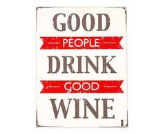 Box Decorativo Good People Wine - 30x40cm | Westwing - Casa & Decoração