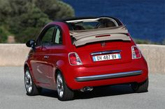 Cutest car ever? It may be! We absolutely love the Fiat 500; dream car material! #Hartwell #Dreamcar