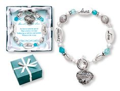 Amazon.com: Special Aunt Love Expressively Yours Bracelet: Jewelry