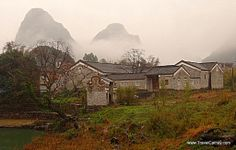 Abandoned ancestral Hall in Huangyao, an ancient village in south Guangxi province, China #travel