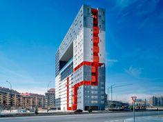 Edificio Tetris en Madrid, MVRDV architects