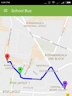 Real time school bus tracking for student safety
