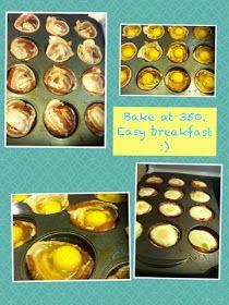 "Zang WOW: Baking: Bacon Egg ""Muffins"""