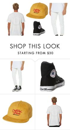 """""""Bar Gigs"""" by chadbradfield on Polyvore featuring Wrangler, Converse, The Critical Slide Society, Afends, men's fashion and menswear"""