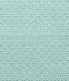Waverly Full Circle Turquoise Fabric - $19.55 | onlinefabricstore.net