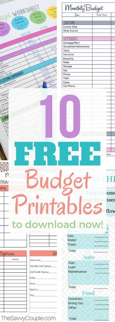 These 10 budget printables are THE BEST! I'm so glad I found these AMAZING monthly budget templates! Now I have great ways to keep my finances organized and under control like Dave Ramsey! These are going to make doing monthly finances so much easier. Budget Spreadsheet, Budget Binder, Budgeting Finances, Budgeting Tips, Monthly Expenses, Monthly Budget Template, Budget Templates, Monthly Budget Sheet, Household Budget Template