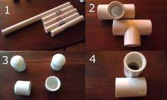 Make your own Niddy Noddy for only six bucks using PVC pipes.  Check out this free #tutorial. #knitting