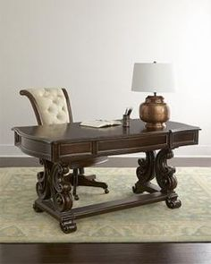 Not this desk and chair but this web page has excellent information on setting up a room.
