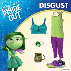 Show Your Inside Out #DisneySide For a runDisney Race! Part II: DISGUST