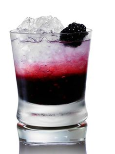 Berryoska Blackberry  2 oz. Russian Standard Vodka 4 blackberries ½ lime, juiced 3 tsp. sugar Crushed ice  Muddle the lime juice, sugar, and blackberries in a glass. Add remaining ingredients and stir.