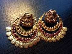 Chandbali + temple Jewellery Combination?
