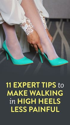how to make walking in heels more comfortable