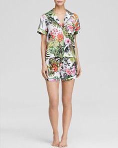 Clover Canyon Botanical Spring Short Pajama Set - Bloomingdale's Exclusive