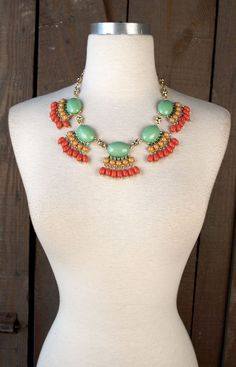 Lizard Thicket - Beach Babe Necklace, $34.50 (http://www.shoplizardthicket.com/beach-babe-necklace/)