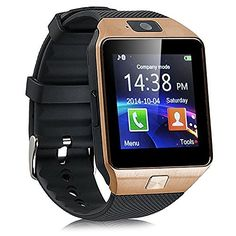 eCosmos Bluetooth Smart Watch Phone With Camera and Sim Card Support With Apps…