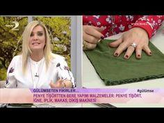 Derya Baykal'la Gülümse: Penye Tişörtten Bere Yapımı - YouTube