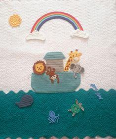 Ravelry: VioletsrBlue's Noah's Ark Baby Blanket
