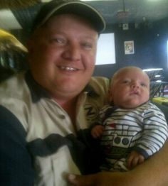 Caylem and his daddy