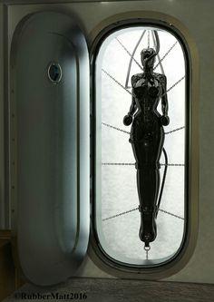Rats, Jessy inside her bondage suit :     Quelle: DeviantArt