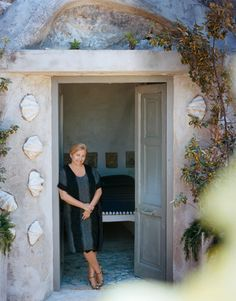 The accessories guru walks us through her eight-bedroom home on an Italian island and tells us what gives it its personal vibe. See more pictures of her home. by J.J. Martin.