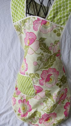 Full Apron vintage retro 1950s by ChicMamaCovers on Etsy, $30.00