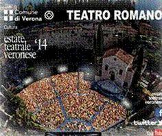 """Al teatro romano si terranno per tutta l'estate spettacoli di ogni genere,con anche personaggi famosi...""""L'estate"""" comincerà il 2 luglio e terminerà il 15 agosto"""