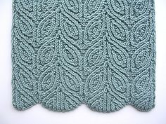 Ravelry: Three Almond Scarves pattern by Dagmar Mora